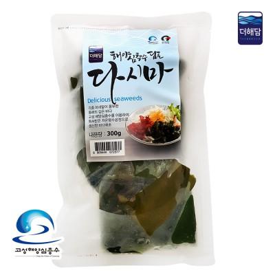 [더해담]해양심층수 염수다시마(300g) 특허제품 국산식염